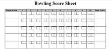 score templates