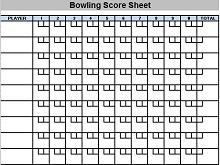 bowling score sheet pdf