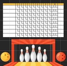 bowling league sheets