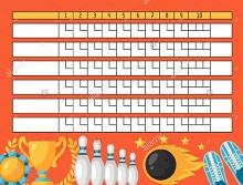 printable score sheets