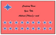 free punch card template or design