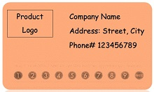 punch card templates for microsoft word
