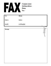 cover sheet for fax, Sample Reddaway Fax Cover Sheet