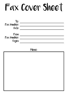 fax cover letter, Sample Fax Cover Sheet Free Download