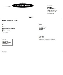 fax cover sheet template, Medical Fax Cover Sheet Free Download