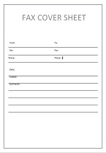 printable fax cover sheet, Free Downloadable Fax Cover Sheet
