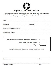 Jury duty excuse letter template 34