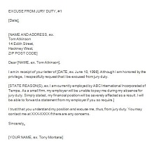 Jury duty excuse letter template 39