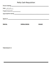 petty cash log printable