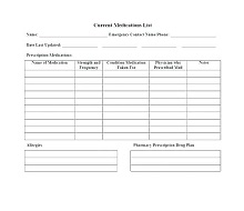 printable prescription pad