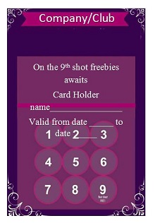 punch card templates free
