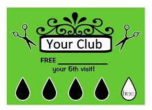 free punch card
