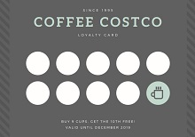 punch card template free downloads