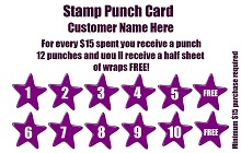 blank punch cards