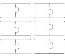 Puzzle Piece Template 17