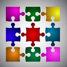 Puzzle Piece Template 19