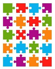Puzzle Piece Template 23