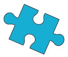 Puzzle Piece Template 25