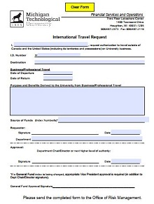 business travel request form, travel request form us probation