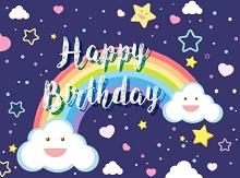 happy birthday stencil printable