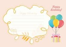 birthday card free
