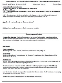 Lesson Plan Template 11