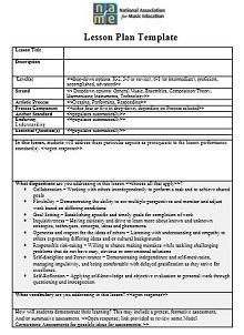education plan template