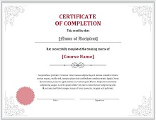 certificate of conformance form