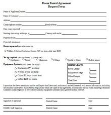 basic room rental agreement