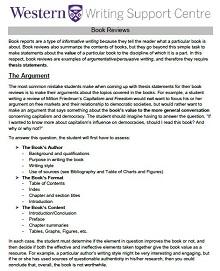 book report template pdf
