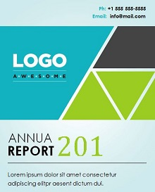 report cover page examples