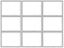 index cards template for word