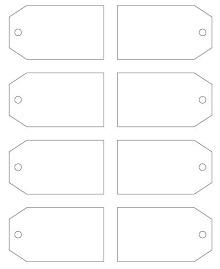 luggage tag templates