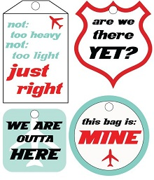 luggage tag template free printable