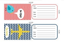 travel tag template