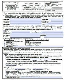 doctor release forms