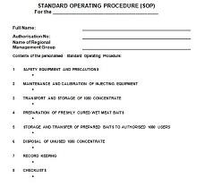 desktop procedures template