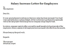 how to write a letter requesting a raise