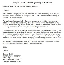 salary increase letter templates