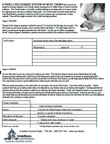 printable cornell notes
