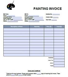 painting estimate form