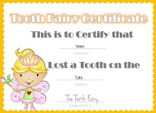tooth fairy letterhead template