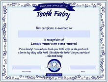 tooth fairy note template