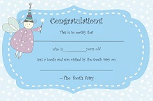 free printable tooth fairy certificate