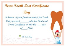 printable tooth fairy certificates