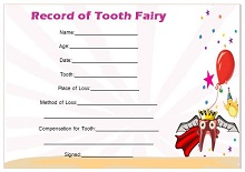 tooth fairy letter ideas