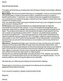 involuntary termination letter