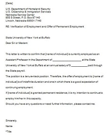 employer letters