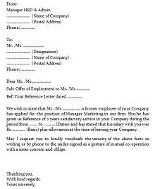 employment verification forms template